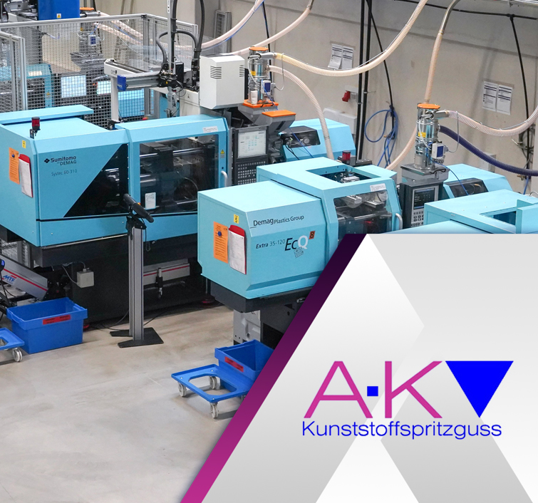 AK-Kunstoffspritzguss quality injection moulding machines industry